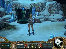 In game image of King's Bounty: Armored Princess on the Valve Steam.