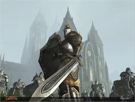 In game image of King Arthur - The Role-playing Wargame on the Valve Steam.