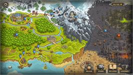 In game image of Kingdom Rush on the Valve Steam.