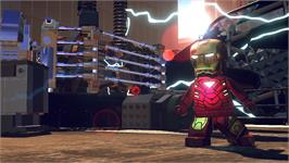 In game image of LEGO® Marvel Super Heroes on the Valve Steam.