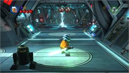 In game image of LEGO® Star Wars® III: The Clone Wars on the Valve Steam.