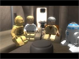 In game image of LEGO Star Wars: The Complete Saga on the Valve Steam.