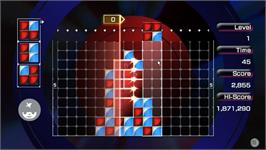 In game image of LUMINES Advance Pack on the Valve Steam.