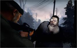 In game image of Left 4 Dead on the Valve Steam.