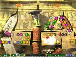 In game image of Luxor 2 on the Valve Steam.