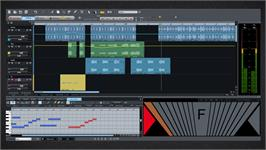 In game image of MAGIX Samplitude Music Studio 2014 on the Valve Steam.