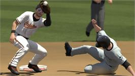 In game image of MLB 2K10 on the Valve Steam.