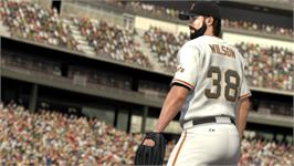 In game image of MLB 2K11 on the Valve Steam.
