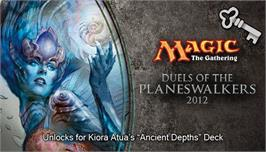 In game image of Magic 2012 Full Deck Ancient Depths on the Valve Steam.