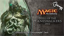 In game image of Magic 2012 Full Deck Ghoulkeeper on the Valve Steam.
