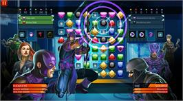 In game image of Marvel Puzzle Quest: Dark Reign on the Valve Steam.