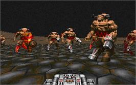 In game image of Master Levels for Doom II on the Valve Steam.
