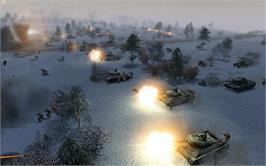 In game image of Men of War: Assault Squad on the Valve Steam.