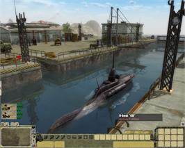 In game image of Men of War: Red Tide on the Valve Steam.