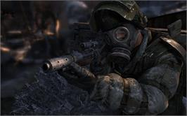 In game image of Metro 2033 on the Valve Steam.