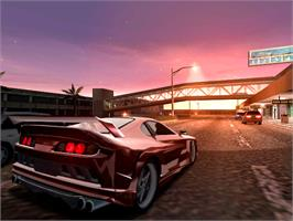 In game image of Midnight Club 2 on the Valve Steam.