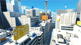 In game image of Mirror's Edge on the Valve Steam.