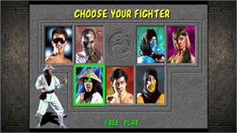 In game image of Mortal Kombat Kollection on the Valve Steam.