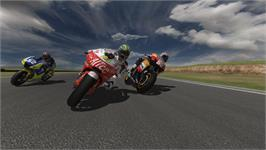 In game image of MotoGP 08 on the Valve Steam.