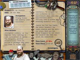 In game image of Mystery Case Files: Prime Suspects on the Valve Steam.