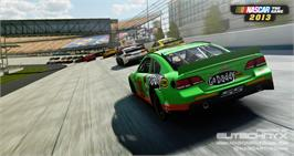 In game image of NASCAR The Game: 2013 on the Valve Steam.