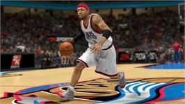 In game image of NBA2K13 on the Valve Steam.