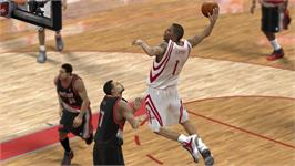 In game image of NBA 2K10 on the Valve Steam.
