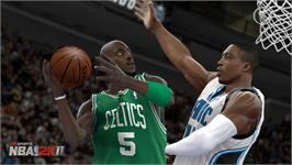 In game image of NBA 2K11 on the Valve Steam.