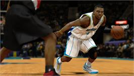 In game image of NBA 2K12 on the Valve Steam.