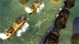 In game image of Naval Warfare on the Valve Steam.