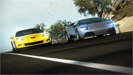 In game image of Need For Speed: Hot Pursuit on the Valve Steam.