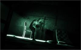 In game image of Outlast on the Valve Steam.