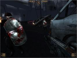 In game image of Painkiller: Recurring Evil on the Valve Steam.