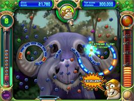 In game image of Peggle Deluxe on the Valve Steam.