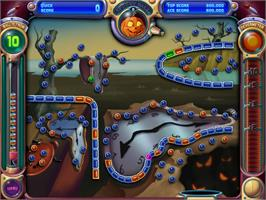 In game image of Peggle Nights on the Valve Steam.