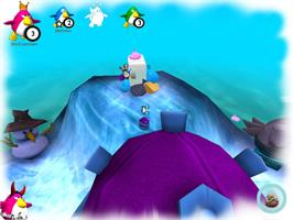 In game image of Penguins Arena: Sedna's World on the Valve Steam.