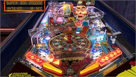 In game image of Pinball Arcade: Season One Table Pack on the Valve Steam.