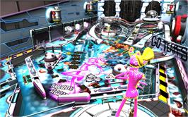 In game image of Pinball FX2 - Ms. Splosion Man Table on the Valve Steam.