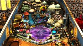 In game image of Pinball FX2 Core pack on the Valve Steam.
