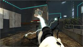 In game image of Portal 2 Sixense MotionPack DLC on the Valve Steam.