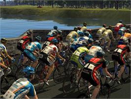 In game image of Pro Cycling Manager - Tour de France 2009 on the Valve Steam.