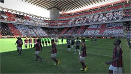 In game image of Pro Evolution Soccer 2014 on the Valve Steam.