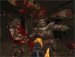In game image of QUAKE on the Valve Steam.