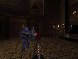 In game image of QUAKE Mission Pack 2: Dissolution of Eternity on the Valve Steam.