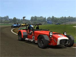 In game image of RACE: Caterham Expansion on the Valve Steam.