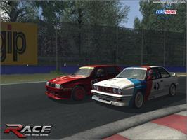 In game image of RACE - The WTCC Game on the Valve Steam.