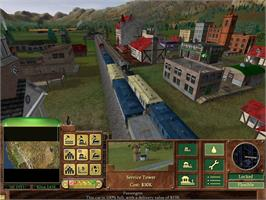 In game image of Railroad Tycoon 3 on the Valve Steam.