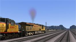 In game image of Railworks 3: Train Simulator 2012 on the Valve Steam.