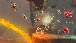 In game image of Rayman® Legends on the Valve Steam.