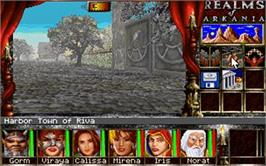 In game image of Realms of Arkania 3 - Shadows over Riva Classic on the Valve Steam.